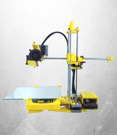 Impressora 3D Stella Amarela