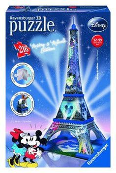 Ravensburger puzzle 3D mickey & minnie eiffel tower (216 τεμ.)