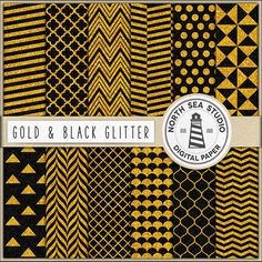 Glitter Digital Paper -  http://etsy.me/29RILQj 12 printable backgrounds with polka dots, chevron, stripes, triangles & quatrefoil patterns.