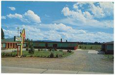 Silver Spruce Motel - Coeur d'Alene Idaho ID - 1960s