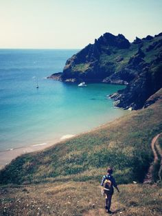 Maceley Cove, nr East Prawle, south Devon - photograph by Atlanta Plowden