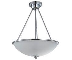 Люстра - металл - хром, 50хØ40 см