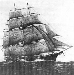 "The Flying Cloud, a Gold Rush era clipper ship.Clipper Ship, Flying Cloud  In 1853 the ""Flying Cloud"" sailed 14,000 miles from NY to San Francisco in 89 days and 8 hours. The ship was built by Donald McKay and launched in 1851.he Flying Cloud, a Gold Rush era clippership was commanded by Captain Josiah Creesy from 1851-1855. Eleanor Creesy sailed with her husband throughout his career and served as his navigator.  NPS"
