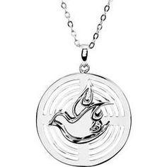 Sterling Silver Confirmation Sponsor Necklace