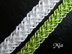 Мастер-класс по вязанию шнура |