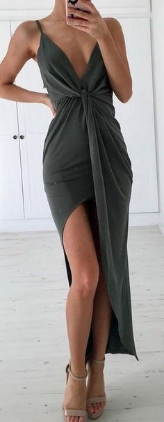 Green Maxi Dress                                                                             Source