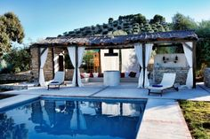 Cortijo Bujio pool, Andalucia. Website has more info.