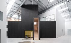 WALLPAPER: Wayne McGregor launches dramatic new studios in Here East http://www.davincilifestyle.com/wallpaper-wayne-mcgregor-launches-dramatic-new-studios-in-here-east/     Wayne McGregor has revolutionised the world of contemporary dance. Now, he is revolutionising rehearsal spaces. Gone are the days of stuffy locker rooms and splintering, chalky barres with little elbow room. McGregor's new London space designed by interior architecture firmWe Not Iis a perfectly c
