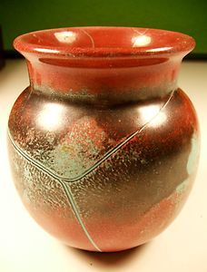 Rare German Modernist Richard Uhlemeyer Vase Eames Era