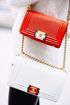 730fc516ef CHANEL BOY BAG IN LAMBSKIN METAL Cruise Collection 2014 Chanel Handbags