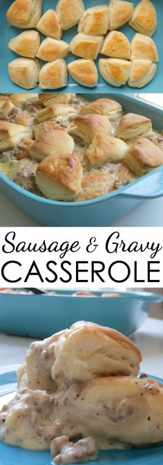 sausage and gravy casserole recipe