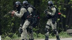 Ukraine Donetsk April 24 2014