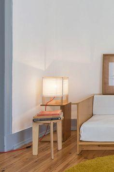 PIGRECO - Wood floor/table lamp in finnish birch plywood / Lampada da pavimento/tavolo in multistrato di betulla