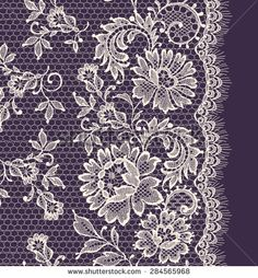 Find Seamless Lace Floral Background Vintage Lace stock images in HD and millions of other royalty-free stock photos, illustrations and vectors in the Shutterstock collection. Violet Background, Background Vintage, Background Patterns, Border Embroidery Designs, Gold Embroidery, Embroidery Patterns, Lace Drawing, Pattern Drawing, Lace Patterns