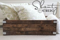 these are cute inexpensive and EASY to build... @ Shanty-to-Chic