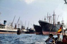 1958 Hamburg - Kaiser-Wilhelm-Hafen (Sammlung: Torsten Radtke) ☺