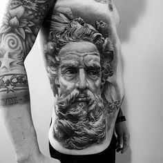 Estamos muito impressionados com o realismo dessa tattoo, ela simplesmente parece sair do corpo, vocês não acham? Arte criada pelo @ledcoult no @tatuador_luciano que é de Caxias do Sul - RS.  #realismo #3d #impressionante #incrivel #art #arte #artenapele #brasil #dessin #dibujo #draw #drawing #euquero #ideafixa #ink #inked #instagrambrasil #t2m #tatouage #Tatowierung #tattoo #tattoo2me #tattoobrasil #tattoodo #tatuagem #tatuaje #tguest #tinta