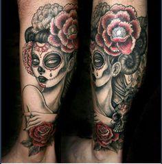 Sugar Skull #tattoo Tattoo | tattoos picture sugar skull tattoos