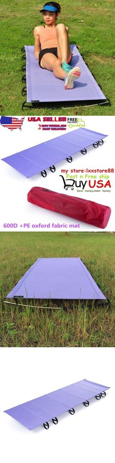 Cots 87099: Outdoor Ultralight Portable Folding Aluminium Alloy Cot Camping Tent Bed -New Hl -> BUY IT NOW ONLY: $46.99 on eBay!