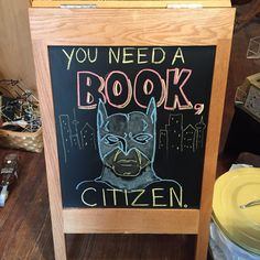 Bookstore chalkboard Library Displays, Window Displays, Library Signs, Chalkboard Ideas, Book Memes, Chalkboards, Sign Quotes, Bibliophile, Display Ideas