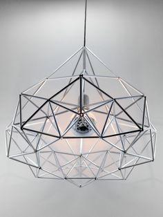 Himmeli Diamond Star Light Pendant Edison Style von panselinos