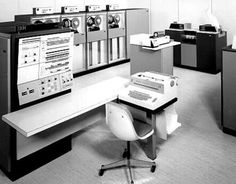IBM was one of many mainframe hardware vendors in the earlier days of computing, along with Sperry-Univac, Honeywell, Burroughs, RCA, Digital Equipment Corporation (DEC), Control Data Corporation (CDC), Data General, NCR, Amdahl, and others. Shown here is an IBM mainframe system.