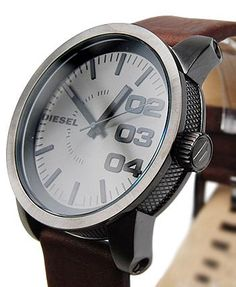 Men's Diesel watch.. sexy.  glad the bf bought one ;)