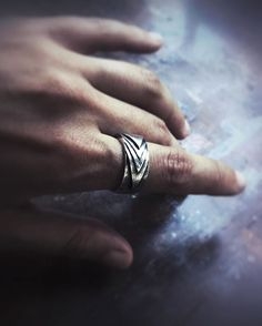 Sterling silver ring, armour inspired, men style, rock n roll jewellery, biker jewelry, handcarved, etsy, layering, stacking, handsculpted, handmade, handcarved, jewelry, jewellery, art deco, rock