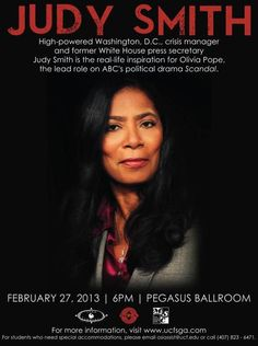 The real Olivia Pope- Judy Smith- Public Relations/Crisis Manager