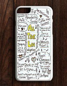 All Time Low Art Music Qoutes Lyric iPhone 6 Plus | 6S Plus Case