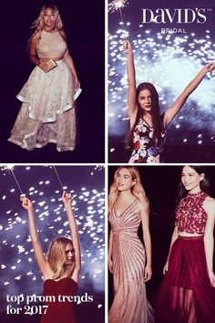 What's in for prom 2017? We've got details on the top red carpet and catwalk inspired looks. See the trend guide for inspiration!