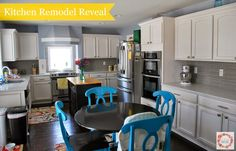 A Glimpse Inside: Kitchen Remodel Reveal... Finally!