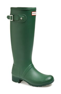 Hunter 'Tour' Packable Rain Boot (Women) available at #Nordstrom.  Navy and other colors packable.