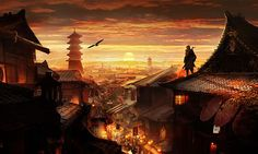 If Assassin's Creed was set in Japan. - 9GAG