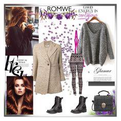 """ROMWE CONTEST"" by ramiza-rotic ❤ liked on Polyvore featuring rag & bone, Chloé, KAROLINA and Bebe"