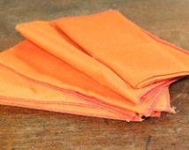 bright orange napkins - Google Search