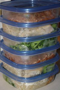 Single serving freezer meals
