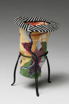 ELISABETH  MUNRO  SMITH 2 Cotton yarn, steel base