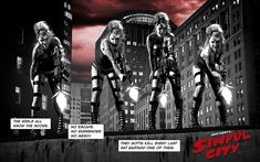 Sin City Old Town Girls cosplay by Jeff Zoet
