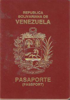 Pasaporte desde el gobierno bolivariano
