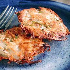 Crispy and so satisfying, these hash browns are low-sodium and low-cal!   health.com