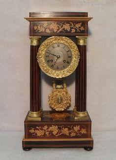 Antiques Atlas - Portico Mantel Clock