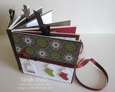 Christmas mini scrapbook scrapbooks