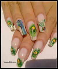 images of unusual stiletto fingernails | Nail art . Nail designs
