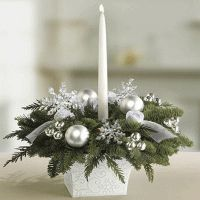 white-silver-table-decor-candles-holiday-winter