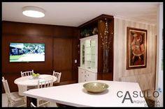 CASULO ARQUITETURA E DESIGN - IGREJINHA - RS - 51.81423578/51.81197993: Kitchen Wood