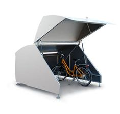 Lupo - Velopa Schweiz Bike Shelter, Bike Parking, Montage, Baby Strollers, Shopping, Ideas, Profile, House And Home, Basement