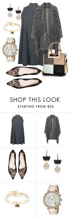 """""""Plus Size Office Attire"""" by tweedleduh on Polyvore featuring Sophia Webster, Tory Burch, BCBGeneration, Michael Kors, River Island, officeattire and plussizefashion"""