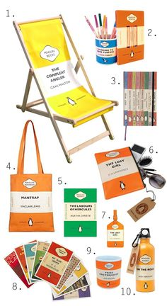 Now you can get classic Penguin covers on various merchandise from deckchairs to mugs.