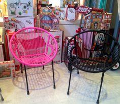 Little vintage lovers chaise scoubidou little vintage - Chaise enfant casa ...